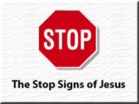 Stop Signs of Jesus