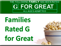 Families Rated G for Great